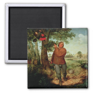 Peasant and Birdnester, 1568 Magnet