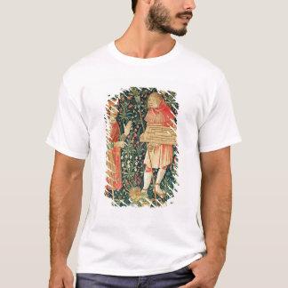 Peasant carrying a jeu de marelle board T-Shirt