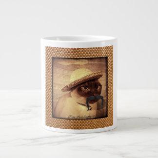 Peasant Cat Giant Coffee Mug
