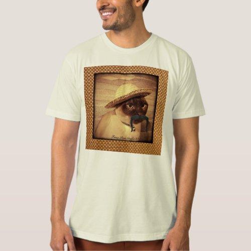 Peasant Cat T_Shirt