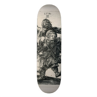 Peasant Couple Dancing by Albrecht Durer Skateboard