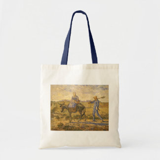 Peasant Couple Going to Work by Vincent van Gogh Tote Bag