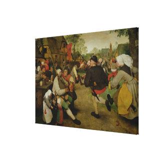 Peasant Dance,  1568 Canvas Print