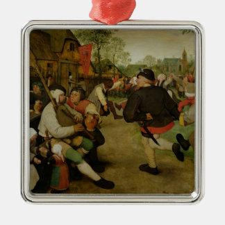 Peasant Dance,  1568 Metal Ornament