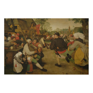 Peasant Dance,  1568 Wood Wall Decor