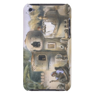 Peasant Dwellings in Upper Egypt, illustration fro Case-Mate iPod Touch Case