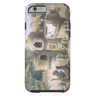 Peasant Dwellings in Upper Egypt, illustration fro iPhone 6 Case
