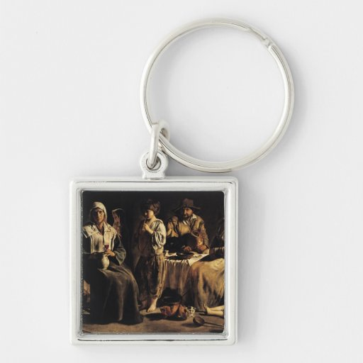 Peasant Family in an Interior, c.1643 Key Chains
