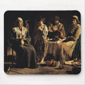 Peasant Family in an Interior, c.1643 Mouse Pad