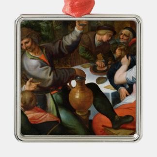Peasant Feast, 1566 Metal Ornament