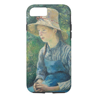 Peasant Girl with a Straw Hat, 1881 iPhone 8/7 Case