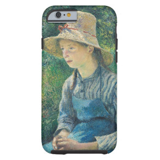 Peasant Girl with a Straw Hat, 1881 Tough iPhone 6 Case