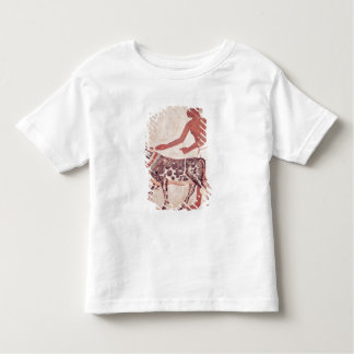 Peasant leading a cow to sacrifice toddler t-shirt