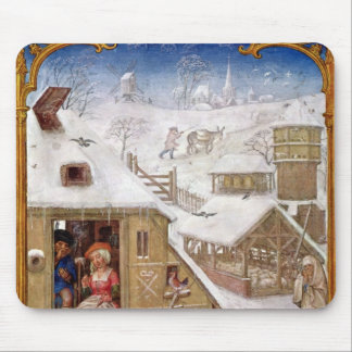 Peasant Life, from 'Breviarium Grimani' Mouse Pad