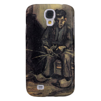 Peasant Making a Basket by Vincent van Gogh Galaxy S4 Case