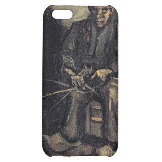 Peasant Making a Basket by Vincent van Gogh iPhone 5C Cover