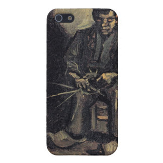 Peasant Making a Basket by Vincent van Gogh iPhone 5 Cover