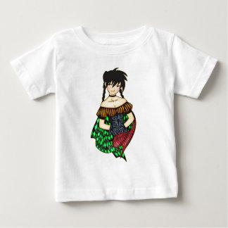 Peasant Princess Baby T-Shirt