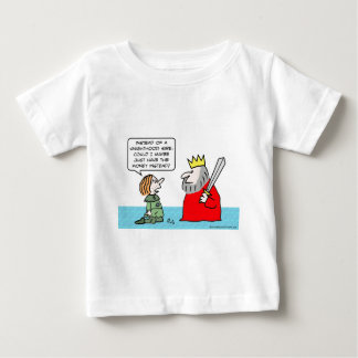 Peasant wants money instead of knighthood. baby T-Shirt