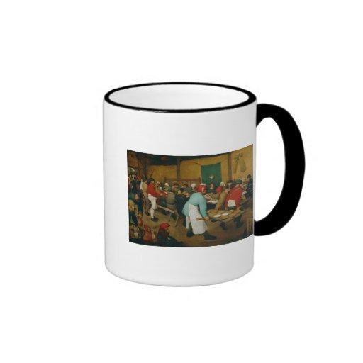 Peasant Wedding , 1568 Coffee Mug