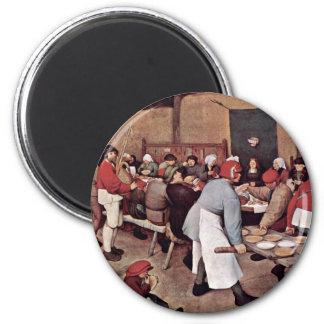 Peasant Wedding By Bruegel D. Ä. Pieter Magnet