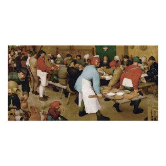 Peasant Wedding by Pieter Bruegel the Elder Card