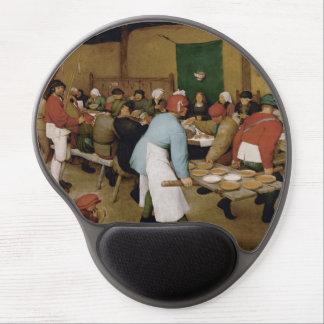 Peasant Wedding by Pieter Bruegel the Elder Gel Mouse Pad