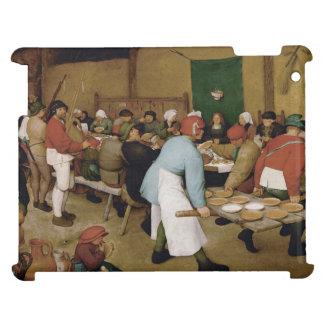 Peasant Wedding by Pieter Bruegel the Elder iPad Covers