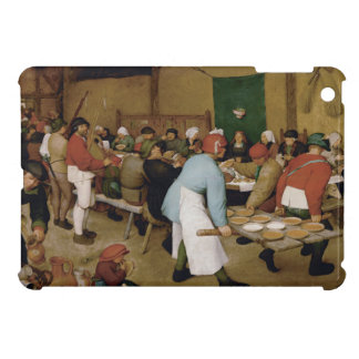 Peasant Wedding by Pieter Bruegel the Elder iPad Mini Cover