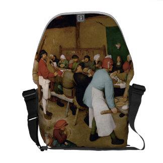 Peasant Wedding by Pieter Bruegel the Elder Courier Bags