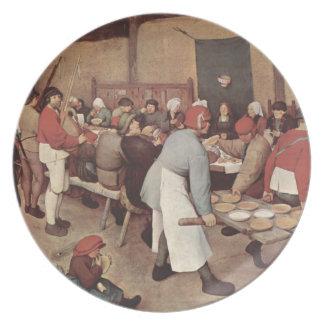 Peasant Wedding Plate