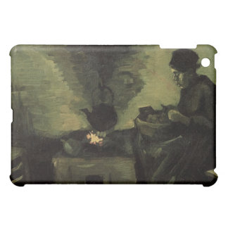 Peasant woman by the fireplace Vincent van Gogh iPad Mini Cover