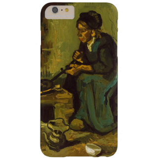 Peasant Woman Cooking by a Fireplace by Van Gogh Barely There iPhone 6 Plus Case