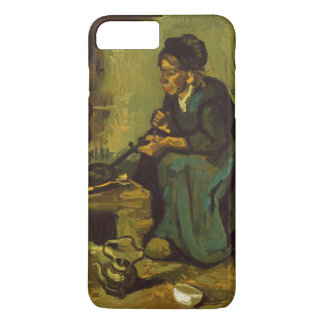 Peasant Woman Cooking by a Fireplace by Van Gogh iPhone 7 Plus Case