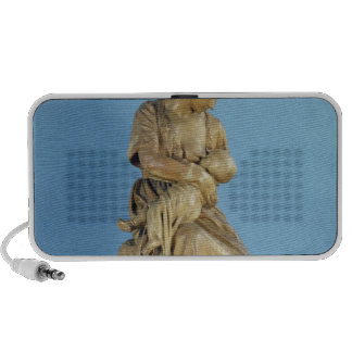 Peasant Woman Feeding her Child Portable Speaker