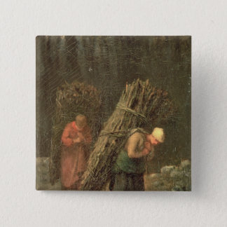 Peasant Women with Brushwood, c.1858 Button