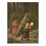 Peasant Women with Brushwood, c.1858 Post Cards