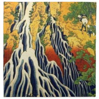 Peasants and Waterfall Cloth Napkin
