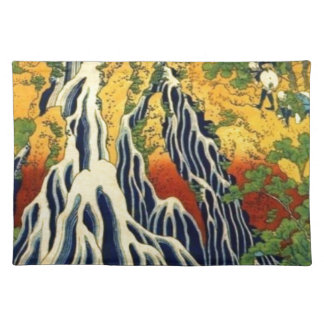 Peasants and Waterfall Cloth Placemat