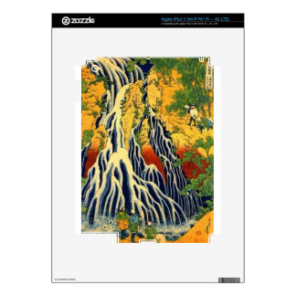 Peasants and Waterfall Decal For iPad 3