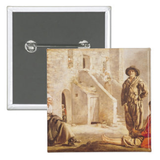 Peasants Before their House, c.1641 Pins