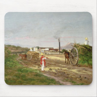 Peasants Collecting Sugar Cane Mouse Pad