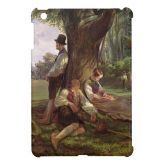 Peasants having a Siesta, 1841 Cover For The iPad Mini