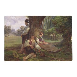 Peasants having a Siesta, 1841 Placemat