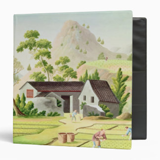 Peasants in the Paddy Fields Binder
