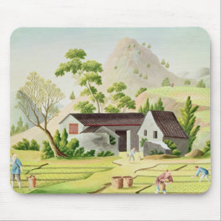 Peasants in the Paddy Fields Mousepads