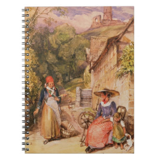 Peasants of the Black Forest Spiral Note Book