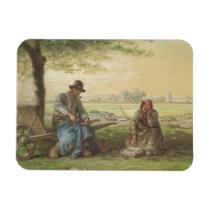 Peasants Resting Magnet