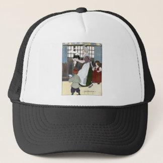 Pease Porridge Hot Trucker Hat