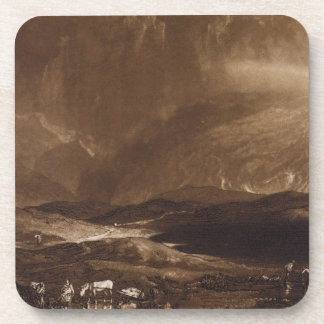 Peat Bog, Scotland, engraved by George Clint (1770 Coaster